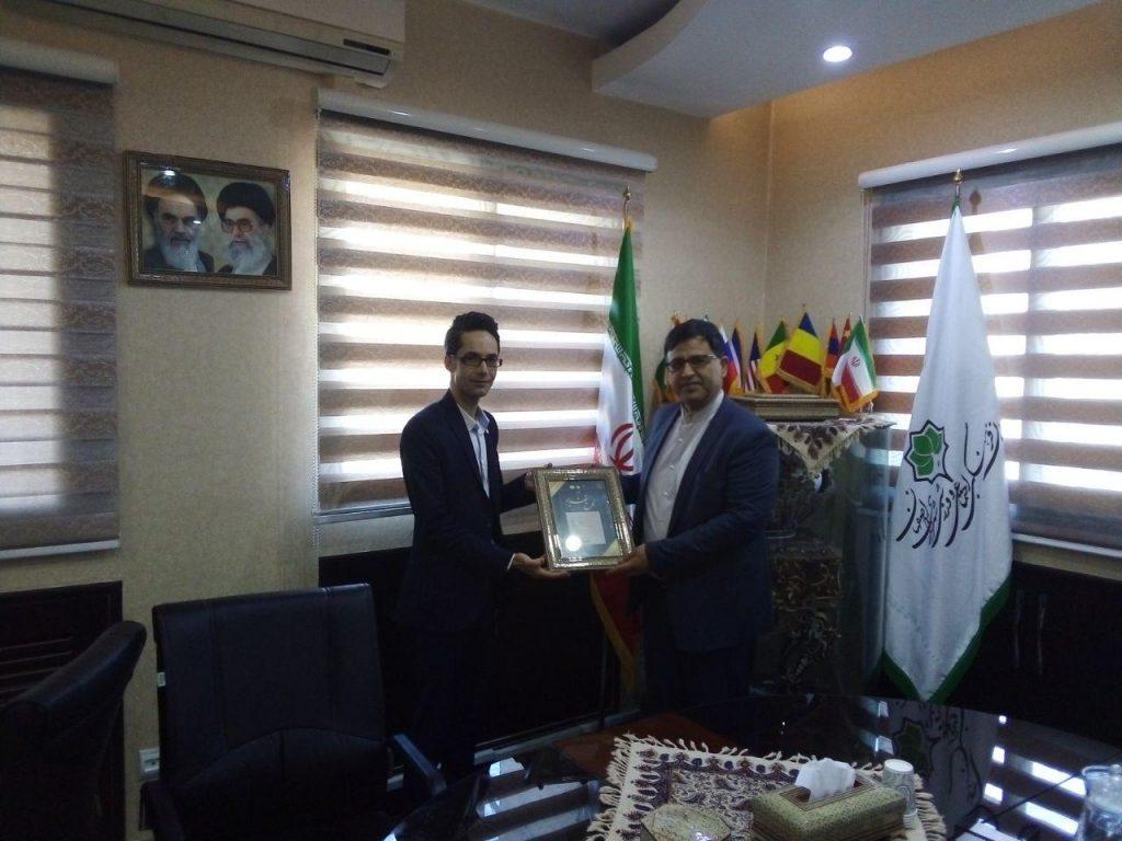 دیدار با معاون شهردار و ریاست سازمان فرهنگی اجتماعی و ورزشی اصفهان