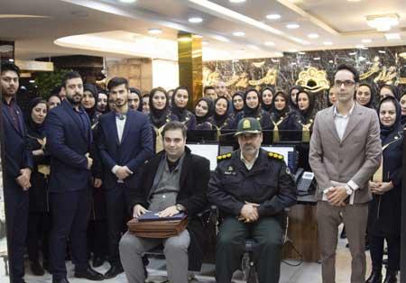 بازدید مسئول قرارگاه مهارت آموزی ناجا اصفهان