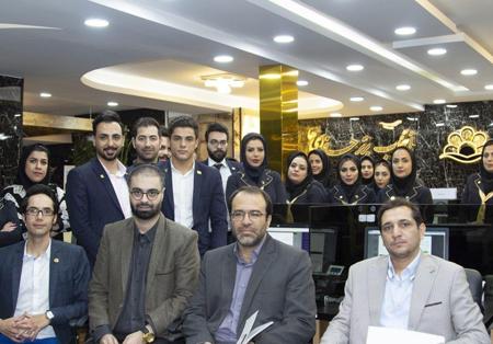 حضور دکتر طغیانی نماینده مردم اصفهان در مجلس شورای اسلامی در هولدینگ پارس