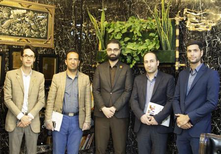 حضور قائم مقام دانشگاه علمی کاربردی دادگستری اصفهان